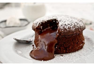 Fondant chocolat Vanille